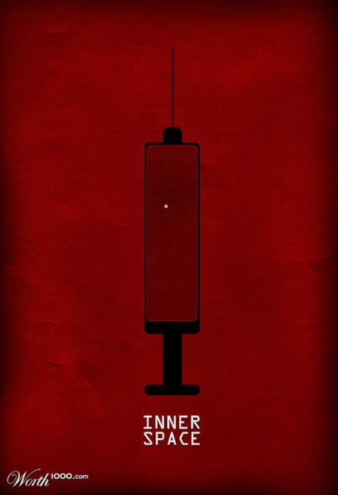Awesome Minimalist Movie Posters. Part 2 (31 pics)