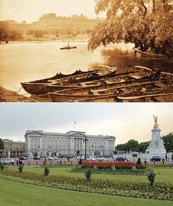 London in 1897 and Now (19 pics)