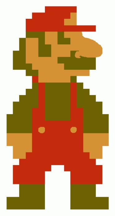This is What Mario Really Looks Like (8 pics)