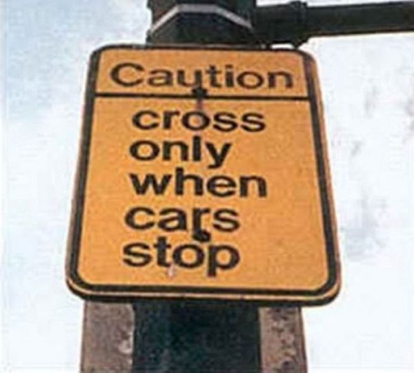Useless Signs (20 pics)