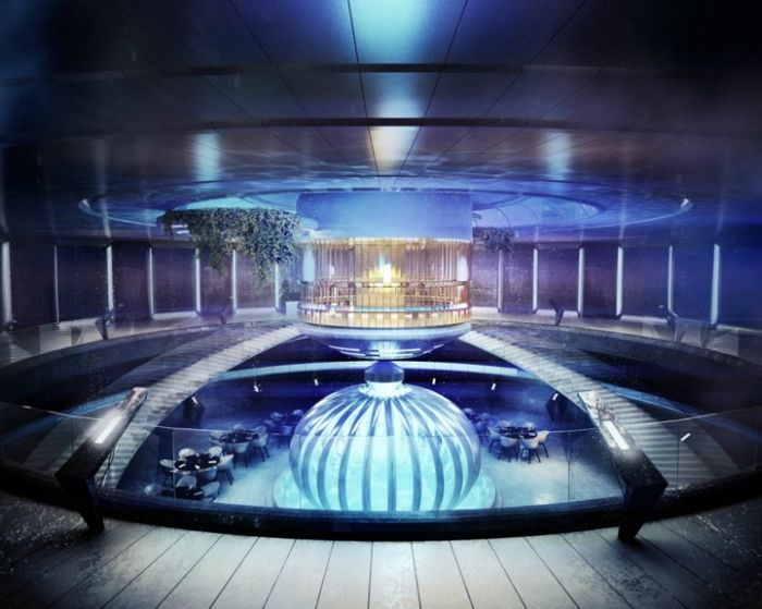 The Water Discus Underwater Hotel in Dubai (12 pics)