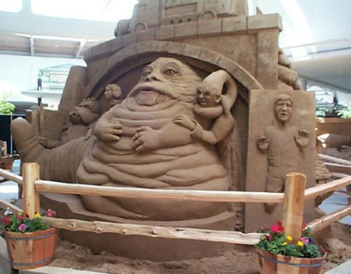 Sand Sculpture World Championship (42 pics)