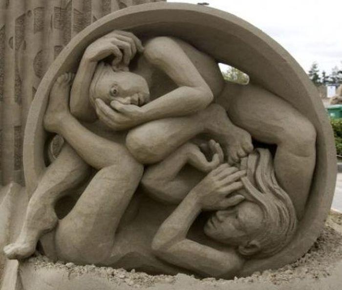 Sand Sculpture World Championship (42 pics)