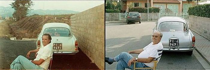 People and Their Cars Throughout the Time (9 pics)