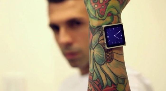 The Most Extreme Way to Wear iPod Nano (7 pics)