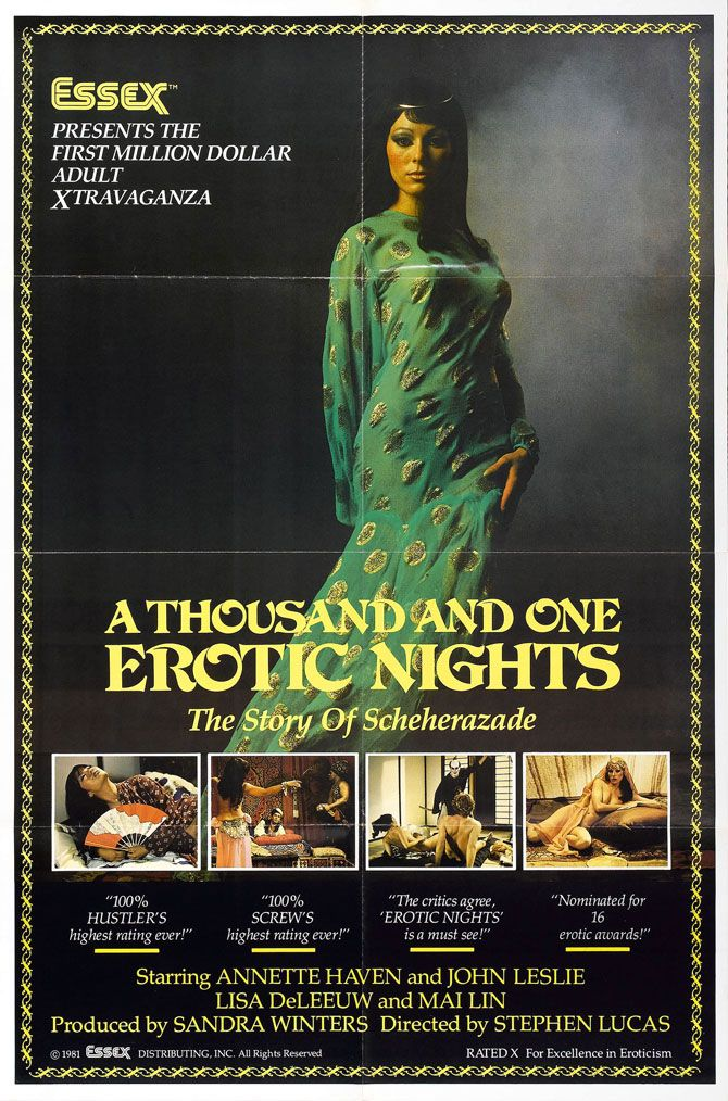 1001 erotic nights the sequal 1986 restored - 3 9