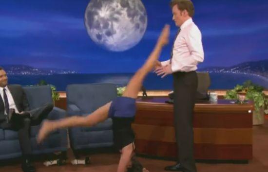 Girl Showing Her Favorite Yoga Pose