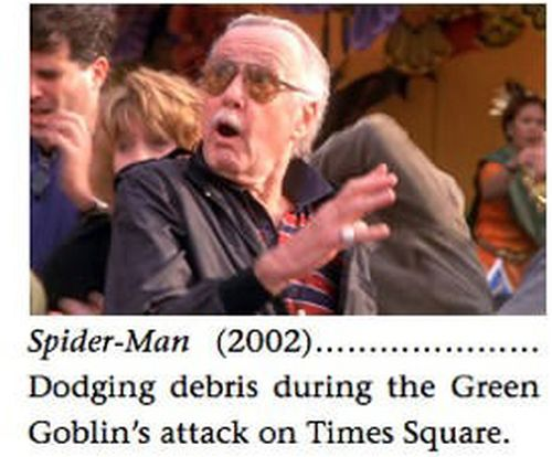 Stan Lee Cameo Appearances in Marvel Movies (14 pics)