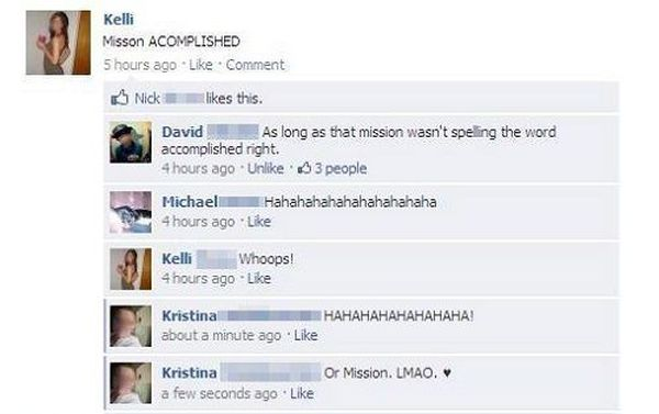 Stupid Facebook Moments (26 pics)