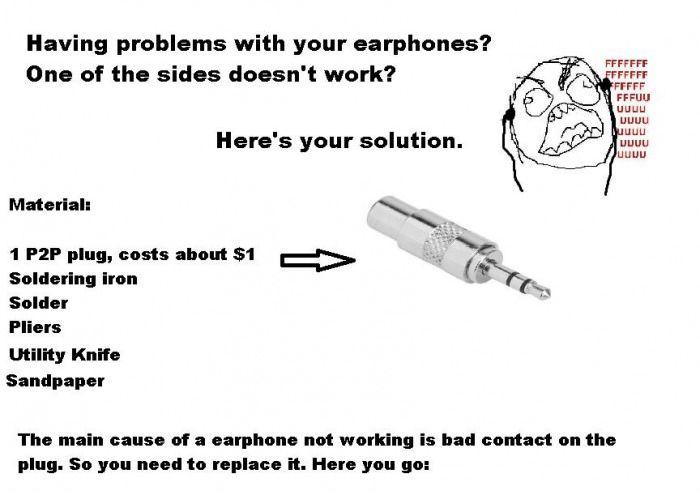 How to Fix Earphones Tutorial (11 pics)
