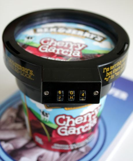Pint Ice Cream Lock (7 pics)