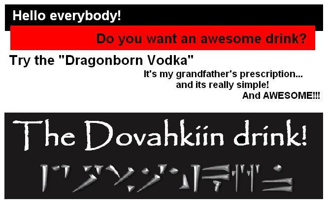 DIY Dragonborn Vodka (4 pics)