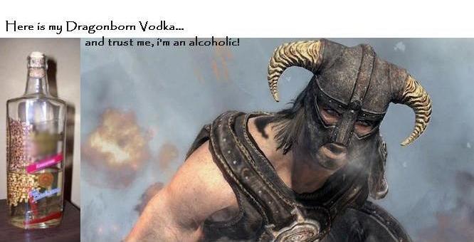DIY Dragonborn Vodka (4 pics)