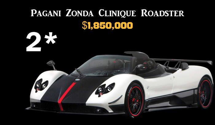 Top 10 Expensive Cars (11 pics)