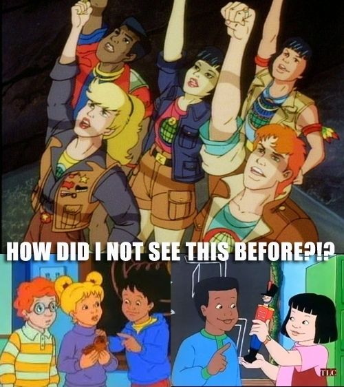 Things From Your Childhood That Can't Be Unseen (23 pics)