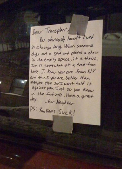 Passive Aggressive Parking Notes (20 pics)