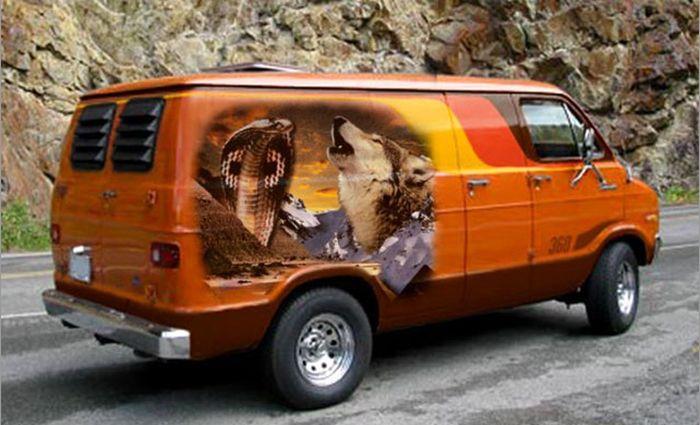 Painted Vans (21 pics)