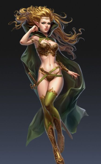 Fantasy Girls (45 pics)