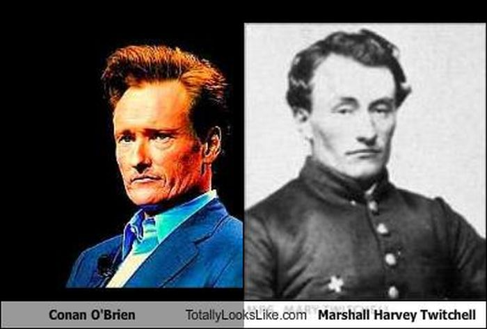 Time-Traveling Celebrities (23 pics)