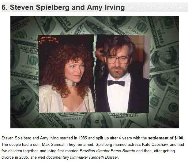 The Most Expensive Celebrity Divorces Ever (10 pics)