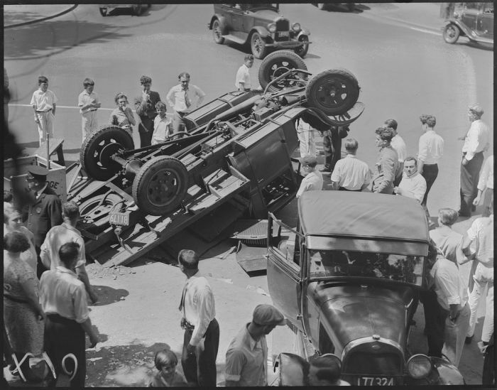 Boston Car Crashes in the 30s (37 pics)