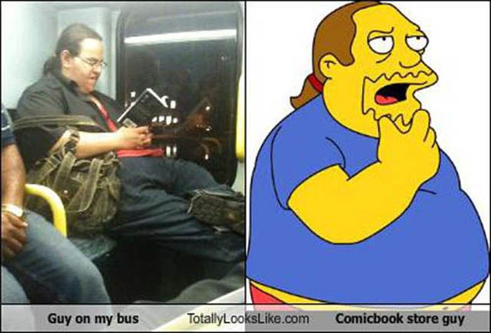 Fictional Characters Caught in the Real World (13 pics)