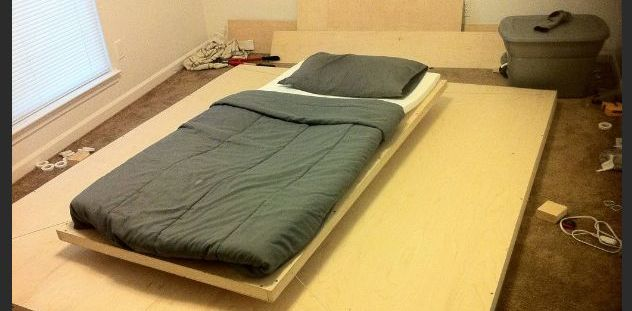 Awesome Hand-Made Levitating Bed (20 pics + video)
