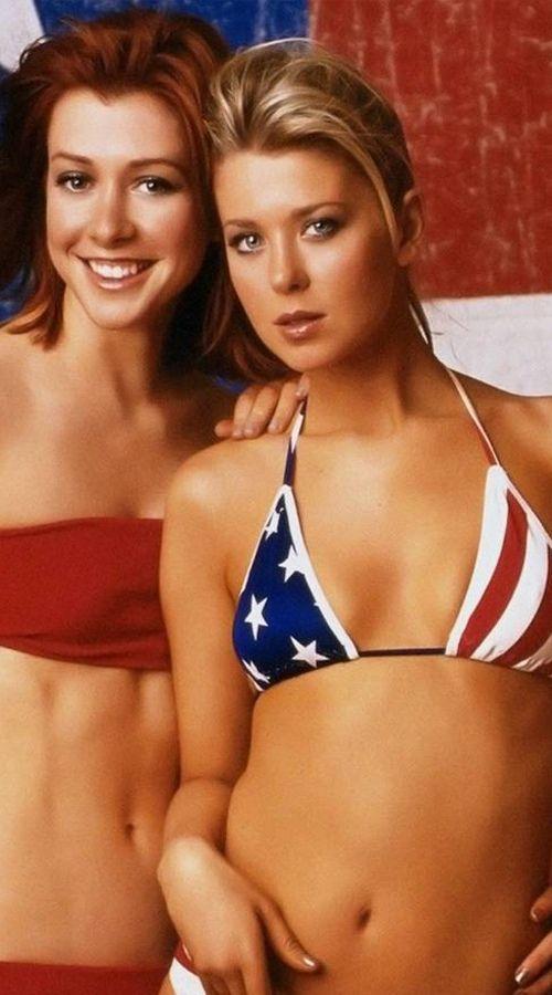 Girls Wearing American Flags (58 pics)