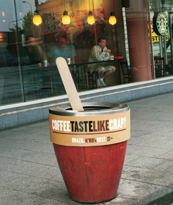 Great Examples Guerilla Marketing. Part 2 (36 pics)