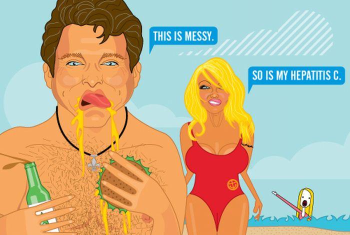 Parodied Celebrities. Part 4 (46 pics)