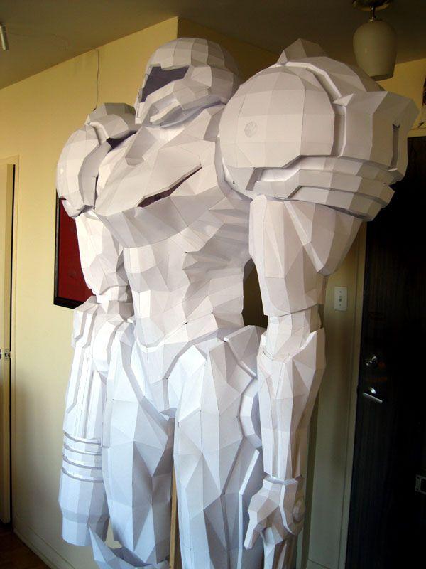 Awesome Papercraft Sculptures (35 pics)