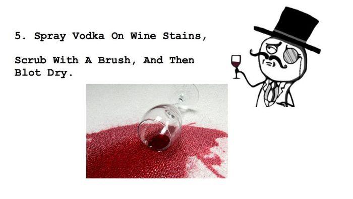 Unusual Ways To Use Vodka (17 pics)