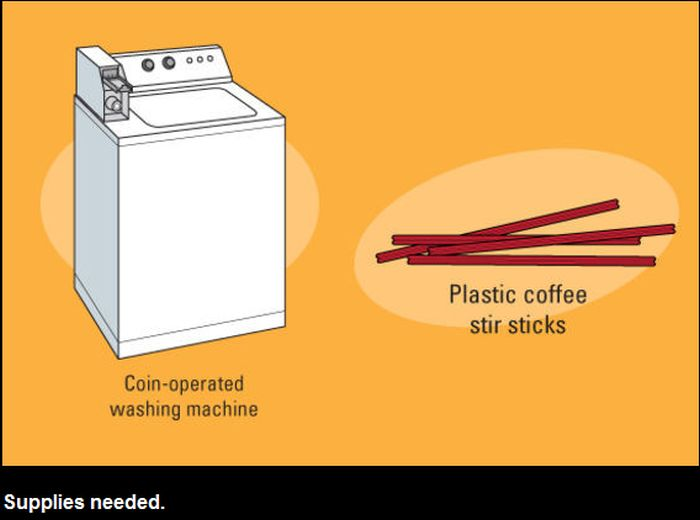 How to Use Washer and Dryer for Free (7 pics)