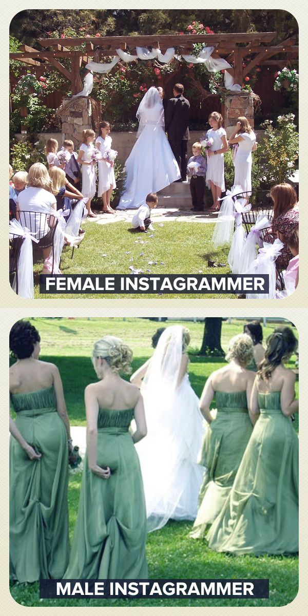 Female Instagrammer vs Male Instagrammer (11 pics)