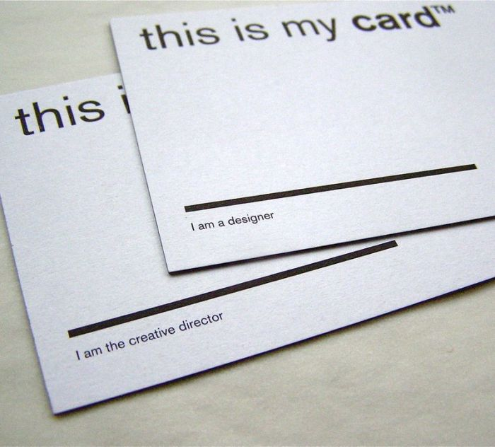 Creative Business Cards (63 pics)