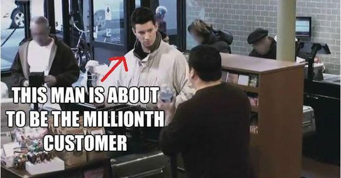 The Millionth Customer (7 pics)