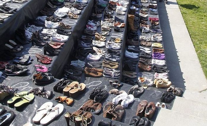 A Very Sad Collection of Shoes (3 pics)