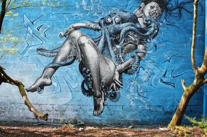 Street Art by SmugOne (24 pics)