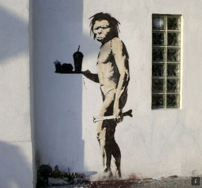 Recreating Banksy's Art in the Real Life (13 pics)