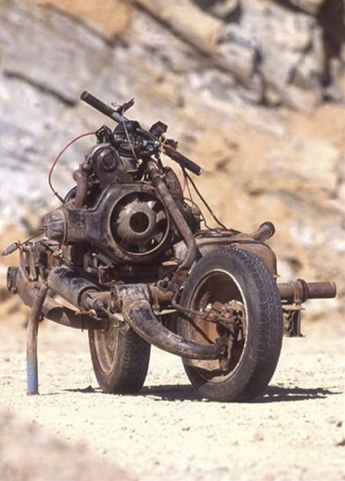 Emile Leray and His Dessert Bike (6 pics)