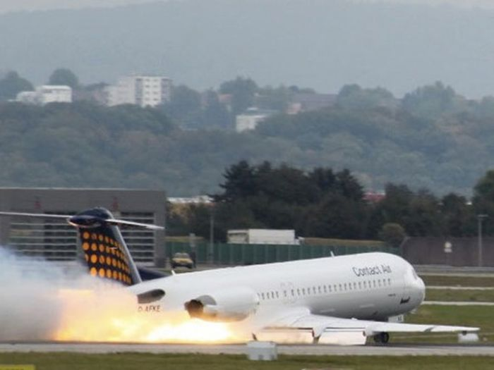 accidente de aviones