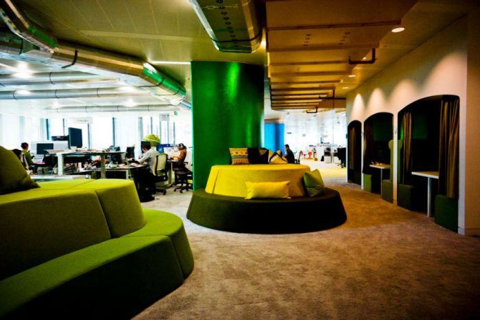 Google London's Office (25 pics)