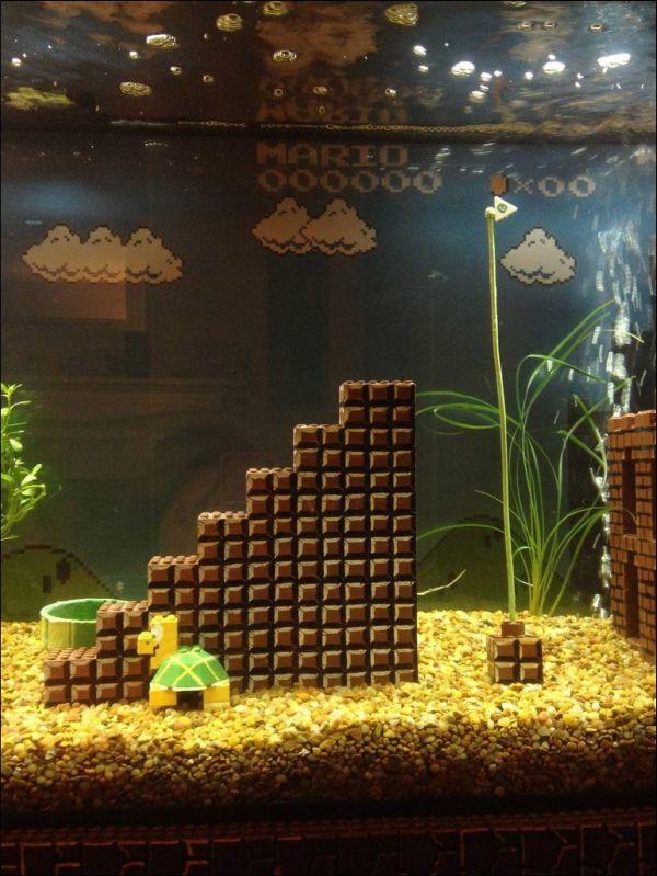 Super Mario Aquarium (6 pics)