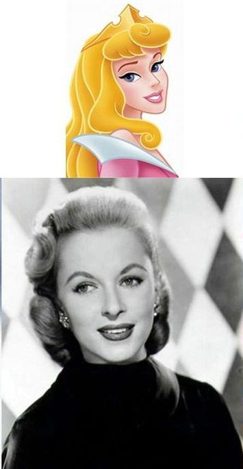 Disney Princesses and Their Voice Actors (11 pics)