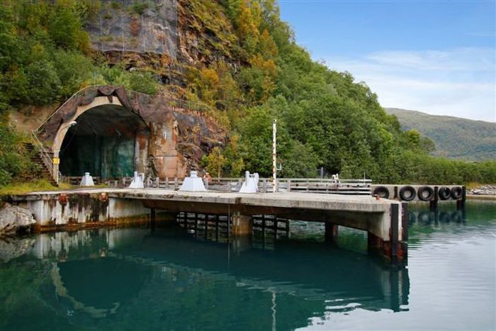 Secret Submarine Base for Sale (10 pics)