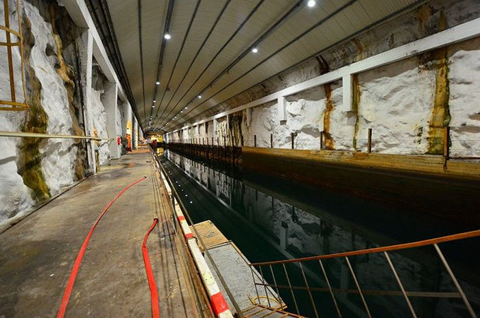Secret Submarine Base for Sale (10 pics)