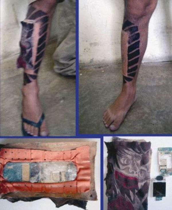 Creative Ways of Smuggling Mobile Phones into Brazil's Jails (8 pics)