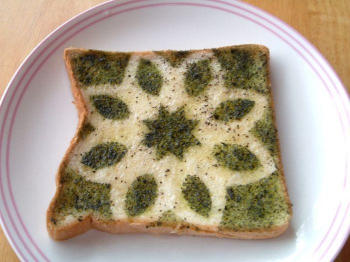 Japanese Character Toast (14 pics)