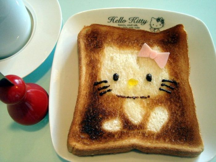 Japanese Character Toast (14 pics)