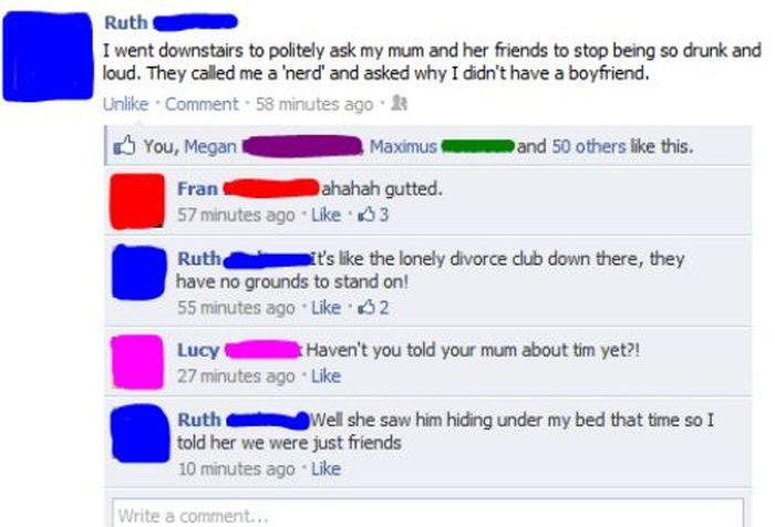 Parents vs. Facebook (20 pics)